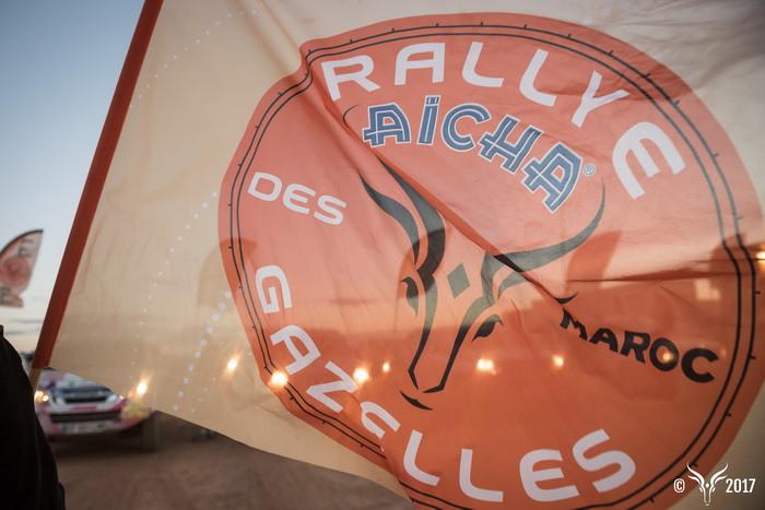 bivouac drapeau départ Rallye